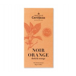 Tablette Chocolat Noir Orange